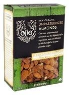 Ojio - Organic Raw Unpasteurized Almonds - 16 oz.