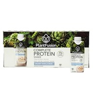 PlantFusion - Complete Plant Protein Ready-to-Drink Vanilla Bean - 12 Pack