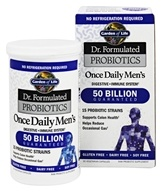 Garden of Life - Dr. Formulated Probiotics Once Daily Men's 50 Billion - 30 Vegetarian Capsules