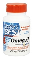 Doctor's Best - Omega-7 Featuring Provinal 210 mg. - 60 Softgels