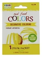 ColorKitchen - Real Food Decorative Coloring Yellow - 0.1 oz.
