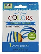 ColorKitchen - Real Food Decorative Coloring Bright Blue - 0.1 oz.