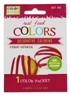 ColorKitchen - Real Food Decorative Coloring Beet Red - 0.1 oz.