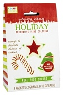 ColorKitchen - Holiday Decorative Icing Coloring - 4 Packet(s)
