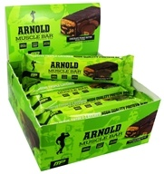 Muscle Pharm - Arnold Schwarzenegger Series Muscle Bar Chocolate Peanut Butter - 3.17 oz.