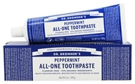 Dr. Bronners - All-One Toothpaste Fluoride Free Peppermint - 5 oz.