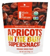 Made in Nature - Apricots in the Buff Supersnacks - 6 oz.