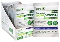 Genuine Health - Fermented Vegan Proteins+ Unsweetened and Unflavored - 0.68 oz.