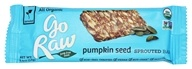 Go Raw - Organic Sprouted Bar Pumpkin Seed - 0.4 oz.