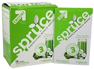 Eboost - Spruce Energizing Whole Greens Green Apple Ginger - 15 Packet(s)