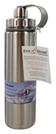 Eco Vessel - Boulder Insulated Water Bottle Silver Express - 24 oz.
