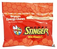 Honey Stinger - Organic Energy Chews with Vitamin C Fruit Smoothie - 1.8 oz.