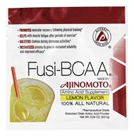 AjiPure - Fusi-BCAA 100% All Natural Amino Acid Supplement Lemon Flavor - 0.29 oz.