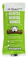 Dr. Mercola Premium Products - Gentle Dental Bones for Small Dogs - 0.81 oz.