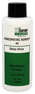Biotics Research - 21st Century Homeopathics Remedy #4 Detox-Virus - 4 oz.