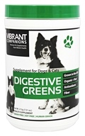 Vibrant Health - Digestive Greens Supplement for Dogs & Cats - 213 Grams
