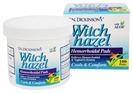 Dickinson Brands - T.N. Dickinson's Witch Hazel Hemorrhoidal Pads with Aloe - 100 Pad(s)