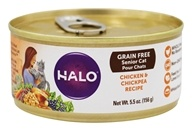 Halo Purely for Pets - Spot's Choice Cat Grain-Free Shredded Chicken - 5.5 oz.