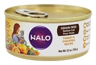Halo Purely for Pets - Spot's Choice Cat Grain-Free Shredded Turkey - 5.5 oz.