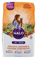Halo Purely for Pets - Spot's Stew Indoor Cat Formula Wholesome Chicken - 6 lb.
