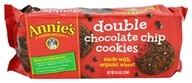 Annie's - Double Chocolate Chip Cookies - 8.4 oz.