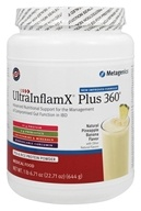 Metagenics - UltraInflamX Plus 360 Medical Food Natural Pineapple Banana Flavor - 22.71 oz.