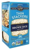 Lundberg - Organic Thin Stackers Brown Rice Lightly Salted - 5.9 oz.