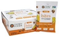 Chosen Foods - Bites with Chia Nuts + Mango - 12 Packet(s)