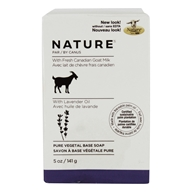 Canus - Nature Pure Vegetable Bar Soap Lavender Oil - 5 oz.