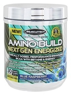 Muscletech Products - Amino Build Performance Series Next Gen Energized Blue Raspberry - 263 Grams