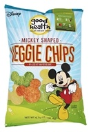 Good Health Natural Foods - Veggie Chips Mickey Mouse Shaped - 6.75 oz.