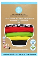 Charlie Banana - Diapers One Size Set Zooloo - 6 Diaper(s)