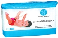 Charlie Banana - Disposable Inserts Bamboo Lined - 32 Insert(s)