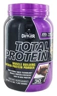 Cutler Nutrition - Total Protein Muscle Building Sustain Powder Chocolate Brownie 30 Servings - 2.3 lbs.