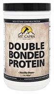Mt. Capra Products - Double Bonded Goat Milk Protein Vanilla Bean - 1 lb.