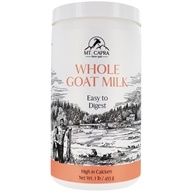 Mt. Capra Products - CapraMilk Whole Goat Milk Powder - 1 lb.