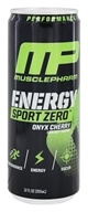 Muscle Pharm - Energy Sport Zero RTD Onyx Cherry - 12 oz.