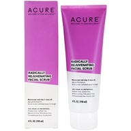 ACURE - Pore Minimizing Facial Scrub Moroccan Red Clay + Argan Stem Cell - 4 oz.