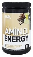 Optimum Nutrition - Essential AmiN.O. Energy Iced Cafe Vanilla - 10.6 oz.