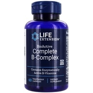 Life Extension - BioActive Complete B-Complex - 60 Vegetarian Capsules