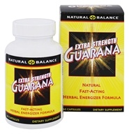 Natural Balance - Extra Strength Guarana - 60 Capsules