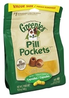 Greenies - Pill Pockets for Dogs Capsules Chicken Flavor - 15.8 oz.