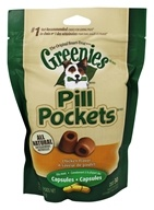 Greenies - Pill Pockets For Dogs Capsules Chicken Flavor - 7.9 oz.