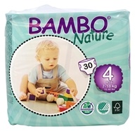 Bambo Nature - Baby Diapers Stage 4 Maxi (15-40 lbs) - 30 Diaper(s)