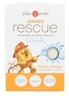 Ginger People - Ginger Rescue Chewable Ginger Tablets for Kids Mighty Mango - 24 Chewable Tablets