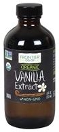 Frontier Natural Products - Organic Vanilla Extract - 8 oz.