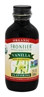Frontier Natural Products - Organic Vanilla Flavoring - 2 oz.