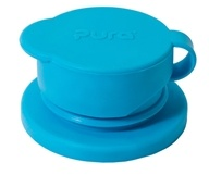 Pura - Big Mouth Silicone Sport Top Aqua Blue