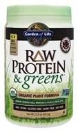 Garden of Life - Raw Protein & Greens Organic Plant Formula Real Raw Chocolate Cacao - 21.6 oz.