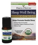 Forces of Nature - Sleep Well Being Control - 11 ml.